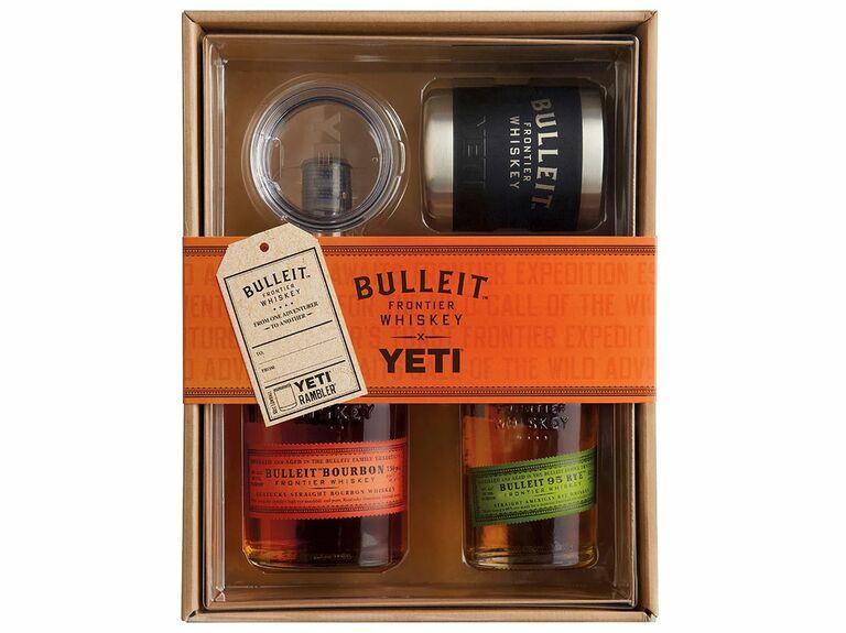 Yeti whiskey gift set Christmas gift for husband