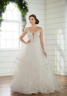 Essense of Australia D2489 Ball Gown Wedding Dress