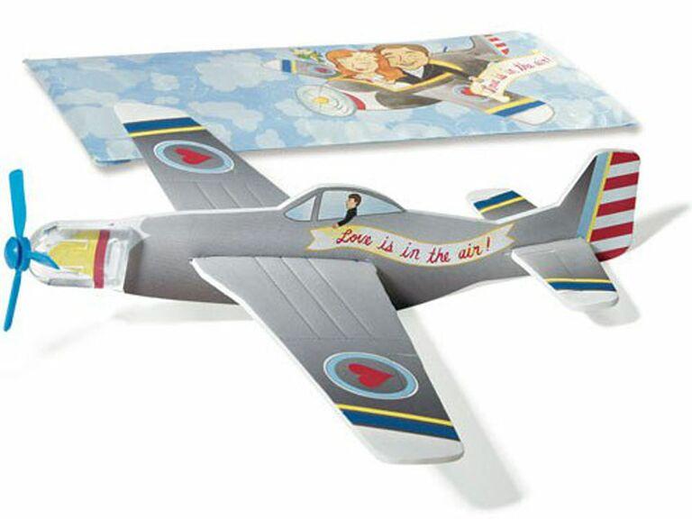mini airplane glider love