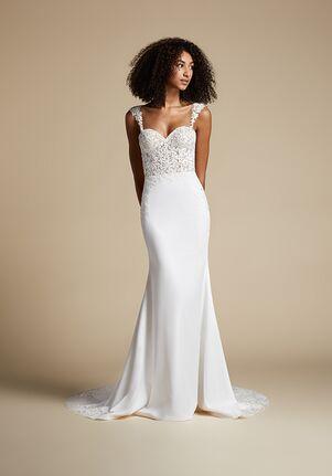 Ti Adora by Allison Webb 72101 Willa Sheath Wedding Dress