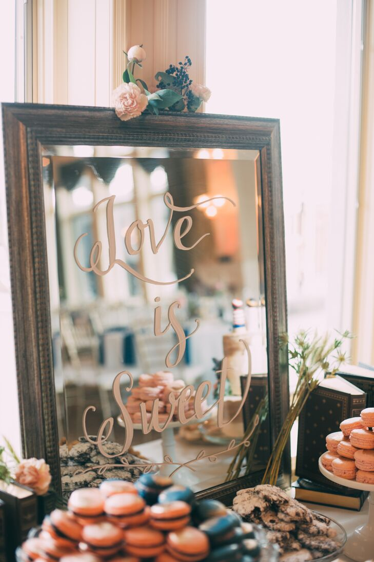 'Love Is Sweet' Dessert-Table Sign