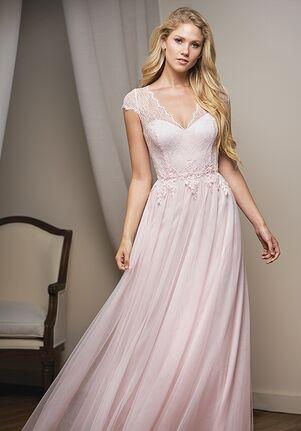 Belsoie Bridesmaids by Jasmine L204010 V-Neck Bridesmaid Dress