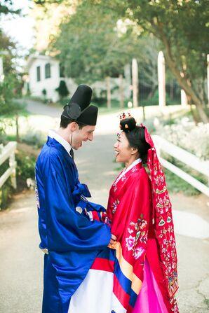 Traditional Korean Ceremony Clothing