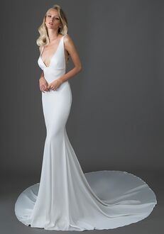 Pnina Tornai for Kleinfeld 4618 Sheath Wedding Dress