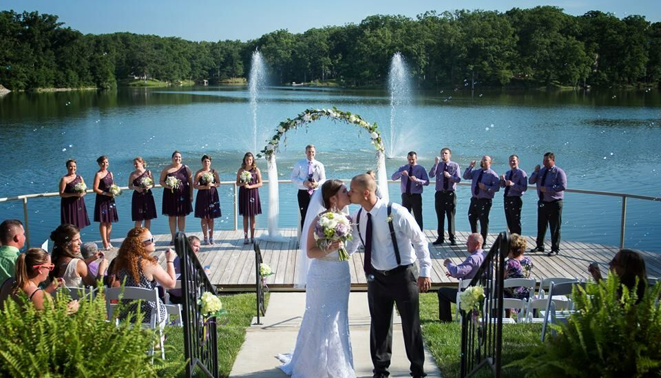 Wedding Venues Peoria Il | Oak Terrace Resort Spa Reception Venues Pana Il