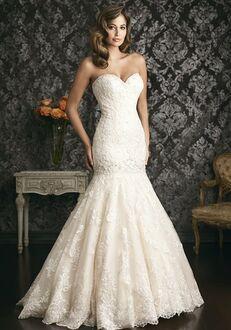 Allure Bridals 9018 A-Line Wedding Dress