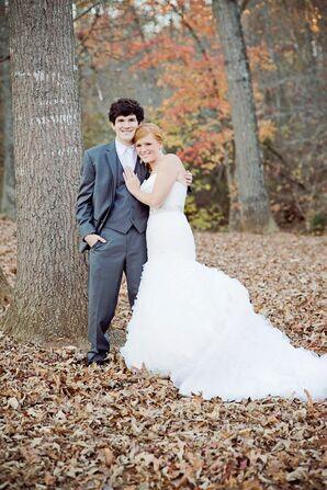 Kristy and Mark's Rustic Georgia Wedding