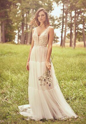 Lillian West 66085 A-Line Wedding Dress