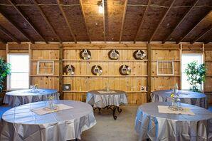 Rustic DIY Densmore Farm Reception