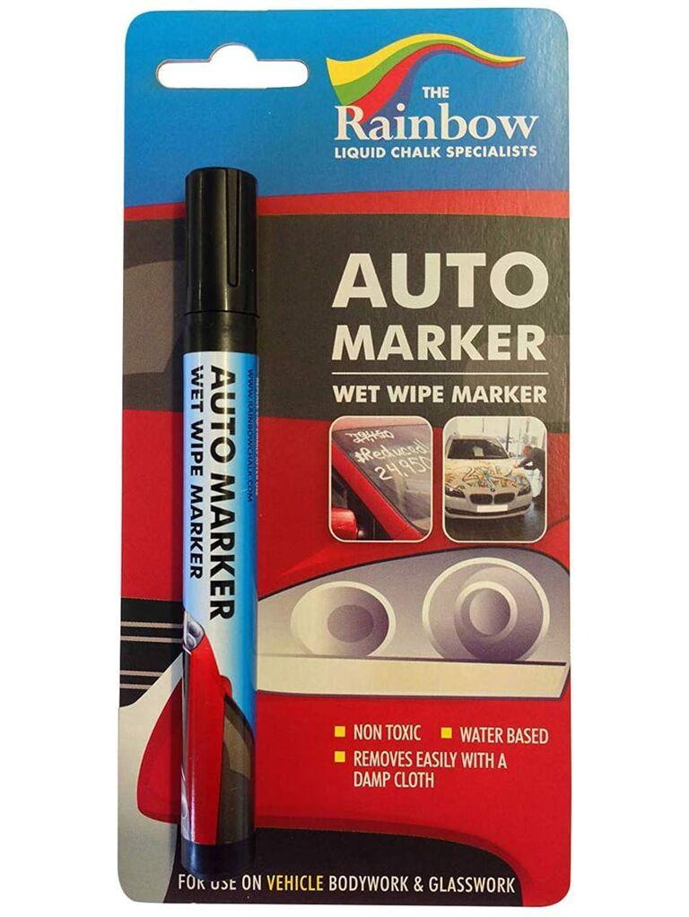 Auto marker wet wipe marker