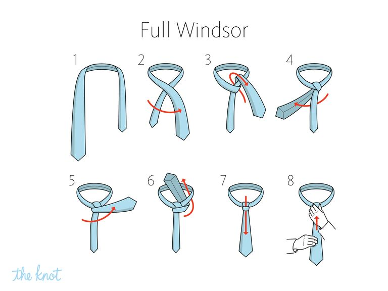 How To Tie A Tie 6 Easy Tie Knots