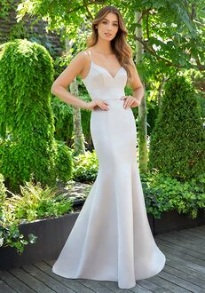 Hayley Paige Occasions 5852 V-Neck Bridesmaid Dress