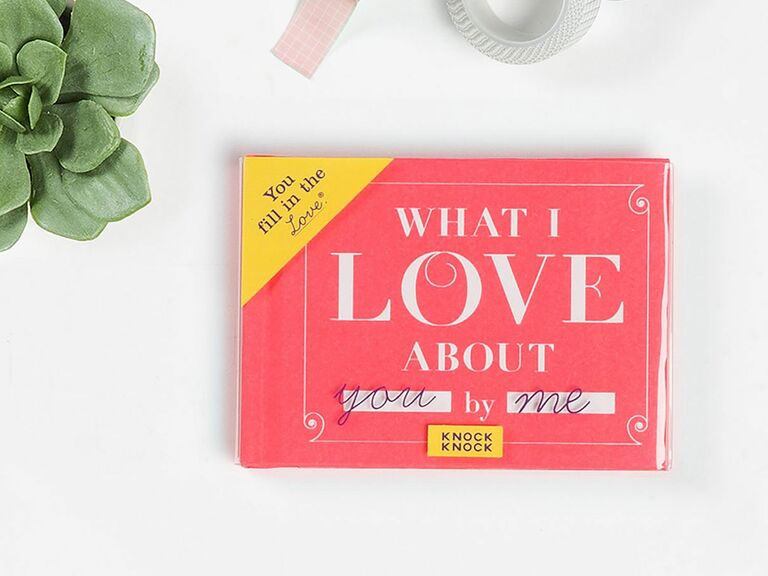 What I Love About You book romantic gift for wife