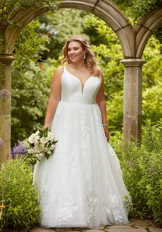 Essense of Australia D2810+ Ball Gown Wedding Dress