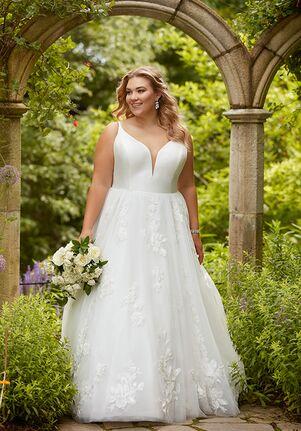 Essense of Australia D2810+ Ball Gown Wedding Dress