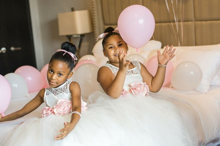 Flower Girls for Wedding at The University of Maryland