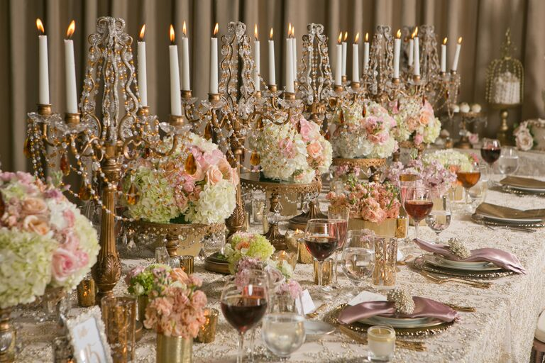 10 Rose Gold Details to Steal For a Wedding That\'s Nothing But Regal
