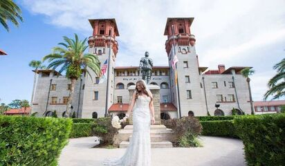 Wedding Planners Florida St Augustine The Authority Front Photo