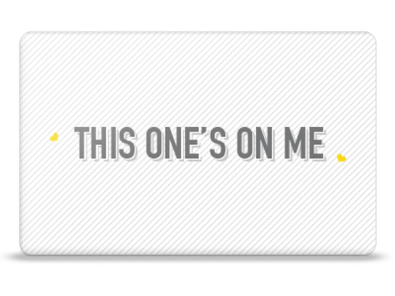 Drybar This One's on Me gift card