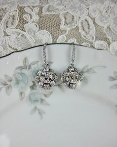 Everything Angelic Frankie Earrings - e361 Wedding Earring photo