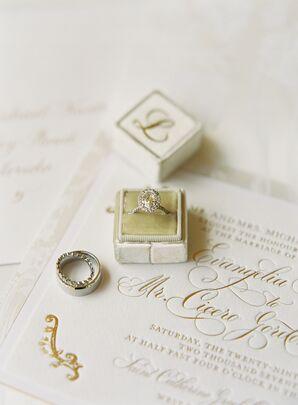 Elegant, Formal Invitations and Wedding Rings
