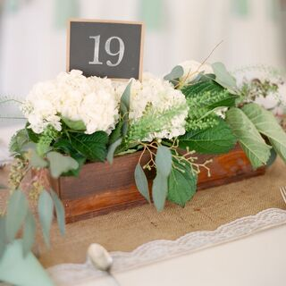 Real Rustic Wedding Centerpieces
