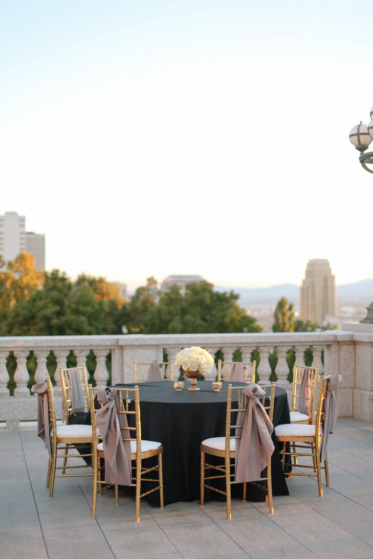 A Luxe Classic Wedding At Utah State Capitol In Salt Lake