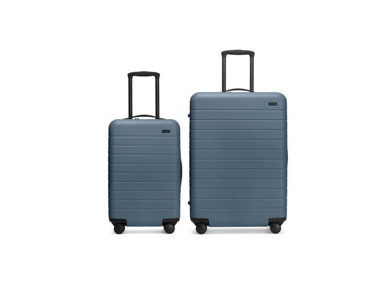 Luggage set anniversary gift idea for friends