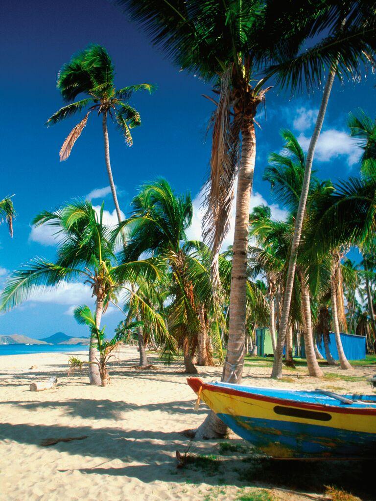 Caribbean wedding destination: Nevis