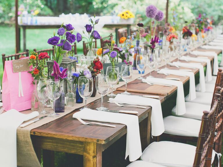 Wedding color palette and style