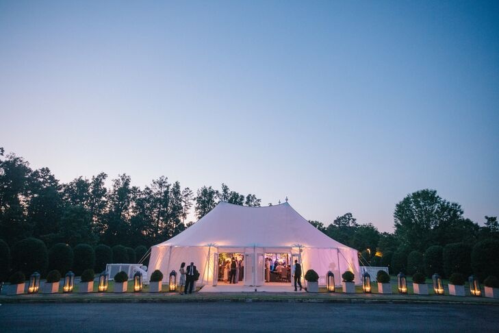 Sailcloth Tented Wedding at Capital City Club