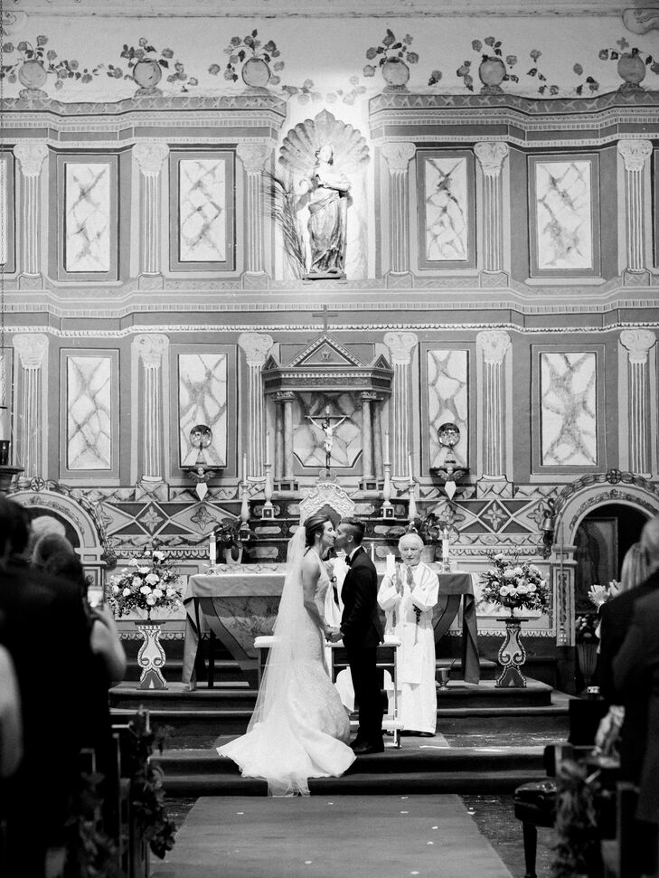 Traditional Ceremony at the Old Mission Santa Inés in Solvang, California
