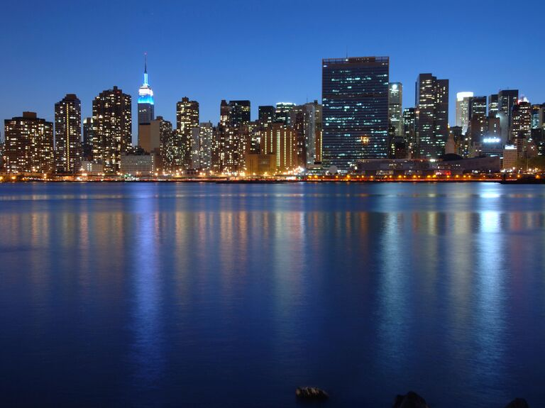 US wedding destination New York City, New York
