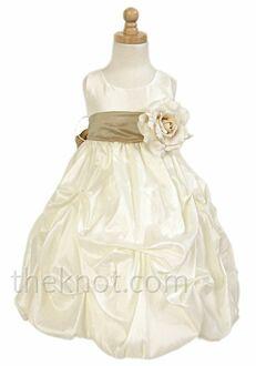 Pink Princess D3060 Brown Flower Girl Dress