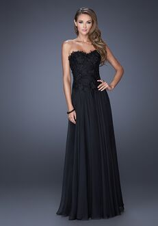 La Femme Evening 19175 Black Mother Of The Bride Dress