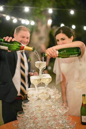 Traditional Champagne Tower