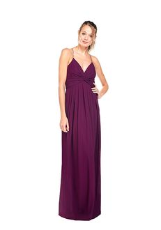 Khloe Jaymes DYLAN V-Neck Bridesmaid Dress