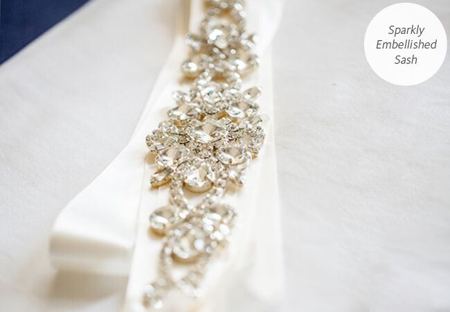 Accessories brides on budget diy