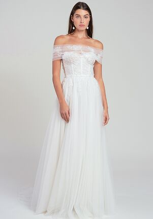 Jenny by Jenny Yoo Jessilyn Shrug Wedding Dress