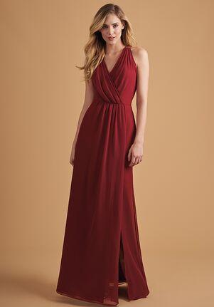 Belsoie Bridesmaids by Jasmine L204051 V-Neck Bridesmaid Dress