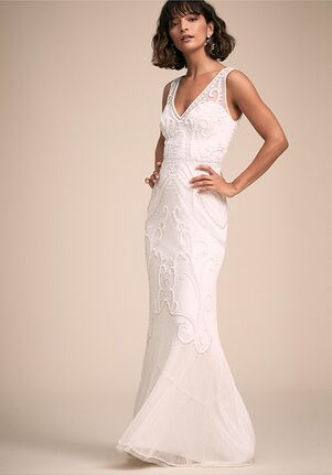 BHLDN Sorrento Dress Sheath Wedding Dress