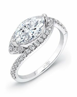 Uneek Fine Jewelry Marquise Cut Engagement Ring