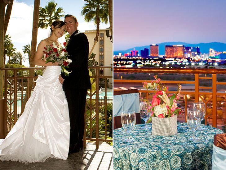 Wedding At Tahiti Village Las Vegas Nevada