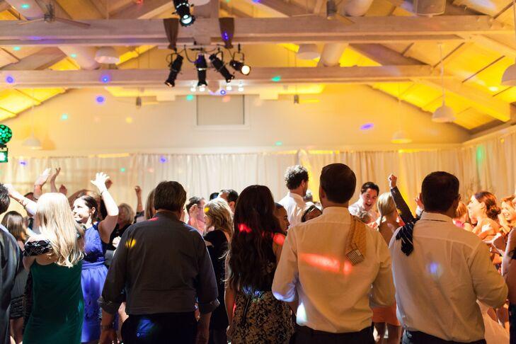 Guests Dancing at Reception