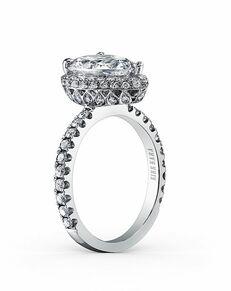 Kirk Kara Glamorous Pear Cut Engagement Ring