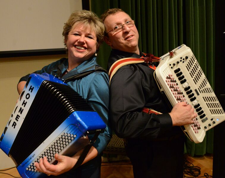 "Elena&Gregory Fainshtein ""Together"" Accordion Duo - Accordion Player - Dallas, TX"