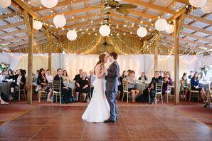 Ranch Wedding Reception First Dance