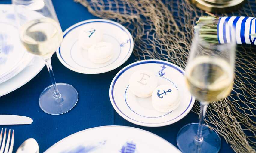 Nautical party themed inspiration and ideas