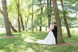 Wedding Portrait in Towson, Maryland