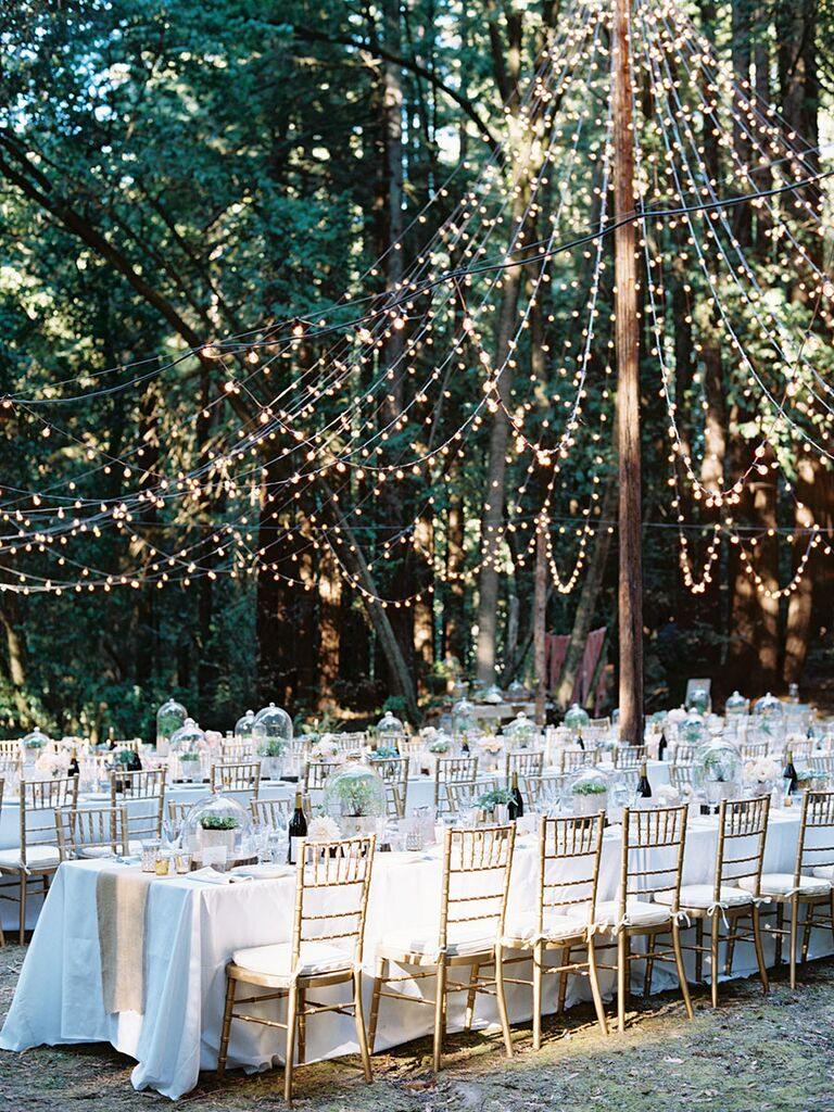 7 ways to get creative with string lights creative string light ideas for a romantic wedding reception solutioingenieria Images